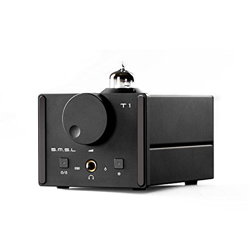 SMSL T1 HiFi Audio DAC USB Optical Coaxial Decoder DSD512 384kHz with Tube Headphone Amplifier Shenzhen Shuangmusanlin Electronic Co.,Ltd