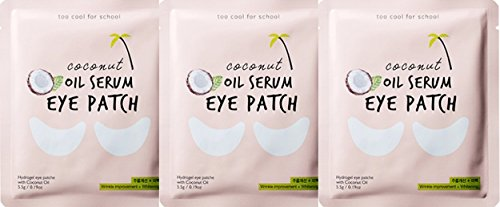 Too Cool For School Coconut Oil Serum Eye Patch 3 pcs