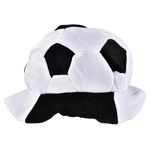 Vbestlife World Cup Soccer Hats Fans Party Football Shape Hat Soccer Match Cheering Cap, Multicolor Matching the National Flags(Russia) for $<!--$10.99-->
