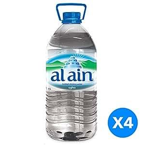 Al Ain water, 5 Liter 20% OFF- Pack of 4