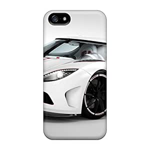 Durable Protector Case Cover With 2012 Koenigsegg Agera Hot Design For Iphone 5/5s