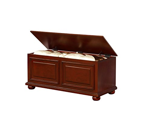 (Powell's Furniture 15A7025 Chadwick Cedar Chest, Cherry,)