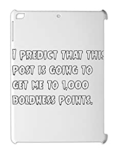 I predict that this post is going to get me to 1,000 iPad air plastic case
