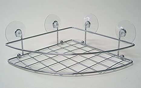 Amazon.com: Splash Home Caddies curvado cesta de succión ...