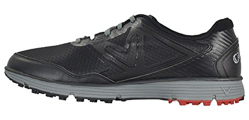 Callaway Men's Balboa Vent Golf Shoe Black/Grey 8.5 D US by Callaway (Image #1)