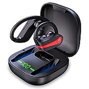 #LightningDeal Wireless Earbuds, Motast Bluetooth 5.1 Sport Headphones