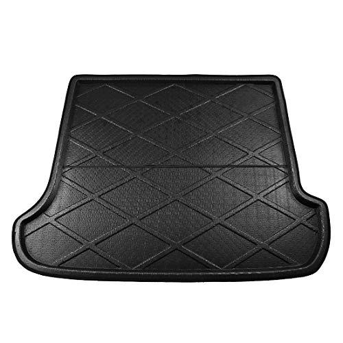 X AUTOHAUX Car Rear Trunk Floor Mat Cargo Boot Liner for Toyota Land Cruiser Prado 03-09