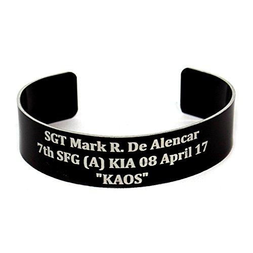 BME Memorial Bracelet - KIA Bracelet - POW MIA Bracelet