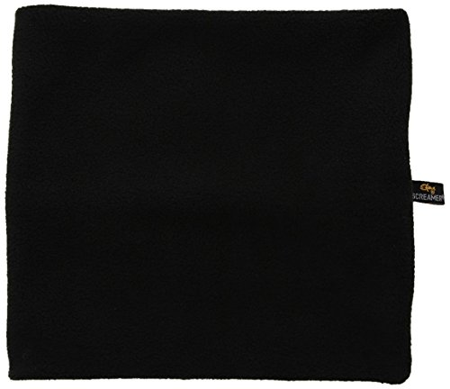 Screamer Neckwarmer - Kids Fleece, Black, One Size