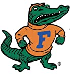 5 Inch Albert Gator Logo Decal UF University of Florida Gators FL Removable Wall Sticker Art NCAA Home Room Decor 4 1/2 by 5 Inches