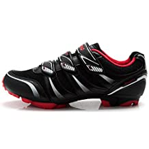 Tiebao MTB Bike Shoes Men Outdoor Cycling Auto-lock Shoes Non-slip Bicycle Sports Shoes
