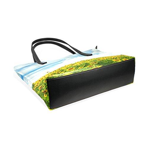 Campo Di Coosun Di Sunflovewrs Borsa A Tracolla In Pelle Pu Borsa E Tote Bag Per Le Donne