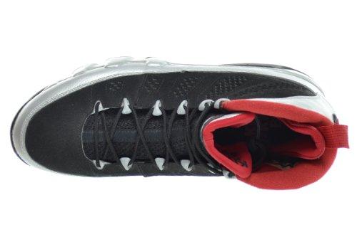 Nike M Nk Dry Sqd Ss Gx Camiseta de Manga Corta, Hombre black, metallic platinum-gym red