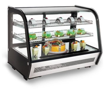 Display Case Refrigerated - OMCAN 27157 RS-CN-0160 Commercial Countertop Refrigerated Display Case