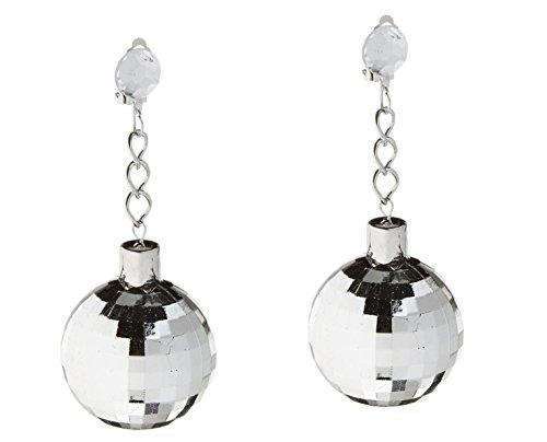 Forum Novelties Disco Ball Earrings -
