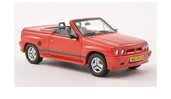 NEO+ Scale Models NEO45915 Opel Corsa Spider IRMSCHER i 120 1985 Red 1:43 Model: Amazon.es: Juguetes y juegos
