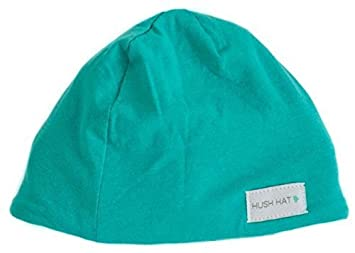 2797a3a09 Hush Baby Hat with Softsound Technology and Medical Grade Sound Absorbing  Foam, Topaz Mint...