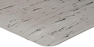 "product image for APACHE MILLS - 1/2"" K-Marble Foot Grey/Ivory/White 2' x 3' Anti-Fatigue Matting"