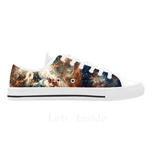 Cheese Geschenk des Dankes Galaxie Schuhe Herren-Mode personalisierte Leder von Adler, Größe: 41EU