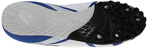 Asics Mens Hypersprint 5 Scarpa Da Corsa Bianco / Nero / Blu