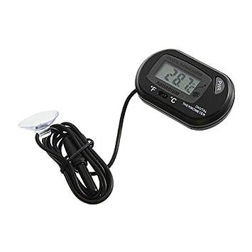 Newgrange reenca LCD Digital de pez de Acuario Termómetro Agua Terrario Free zusã € tzlicher batería: Amazon.es: Productos para mascotas