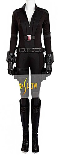 Mtxc Women's Cosplay Black Widow Costume Full Set