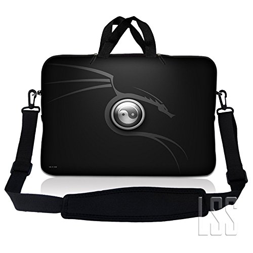 LSS 13.3 inch Laptop Sleeve Bag Carrying Case Pouch w/ Ha...