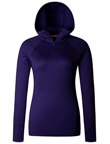 Purple Fleece Hoodie (Regna X Women's Benton Fleece Hoodie Purple S)
