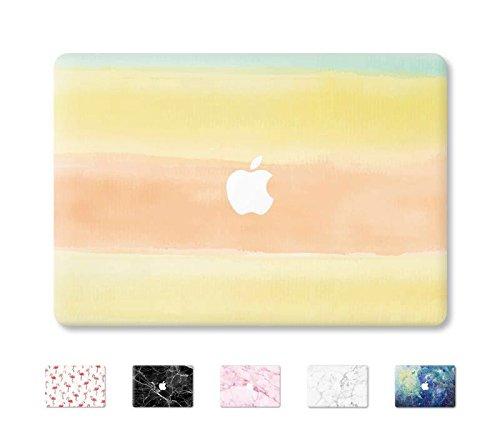 "DowBier MacBook Decal Vinyl Skin Sticker Cover Anti-Scratch Decal For Apple MacBook (MacBook Pro 13""/Inch Retina(A1425,A1502), Warm Paint)"