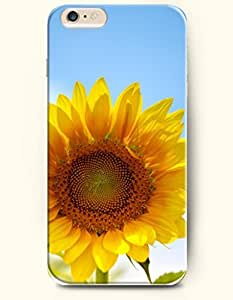 OOFIT iPhone 6 Case ( 4.7 Inches ) - Bright and eye-catching sunflower