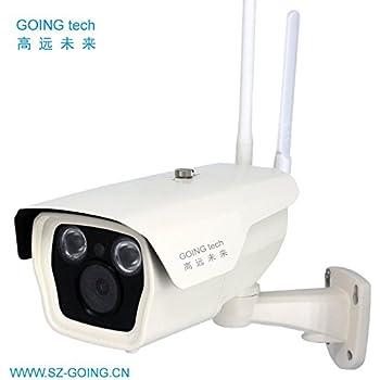 Amazon.com: Cámara IP de seguridad 4G 3G con ranura para ...