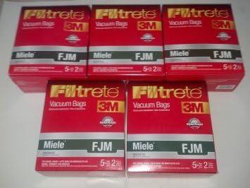 Pour Miele FJM Purefilta Hepa Aspirateur Poussière Sac /& Filtre 5 Paquet