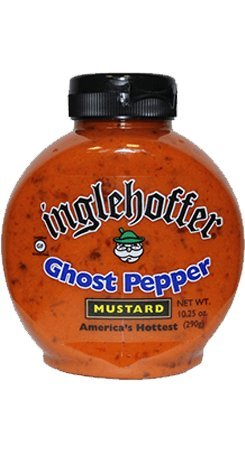 (Inglehoffer Ghost Pepper Mustard, 10.25 Ounce (Pack of 6))