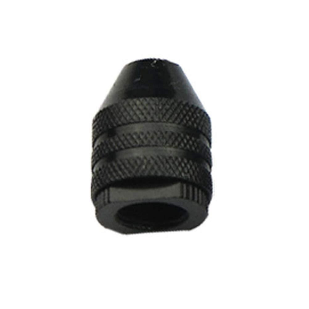 Hemobllo Portabrocas portabrocas sin llave 3 garras M8x0.75mm corto