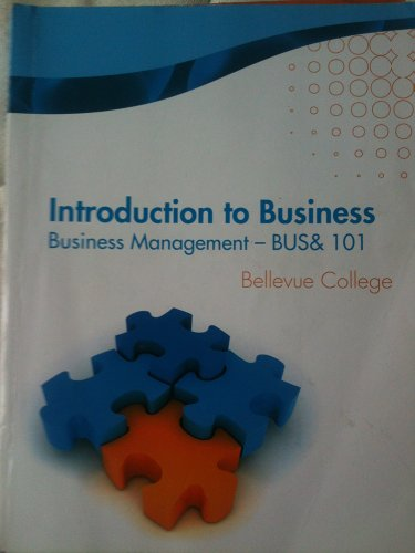 Introduction To Business BUS& 101 (Pkg)(W/Access Code)