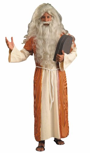 Moses Beard (Forum Novelties Men's Biblical Times Moses Costume, Multi, One Size)