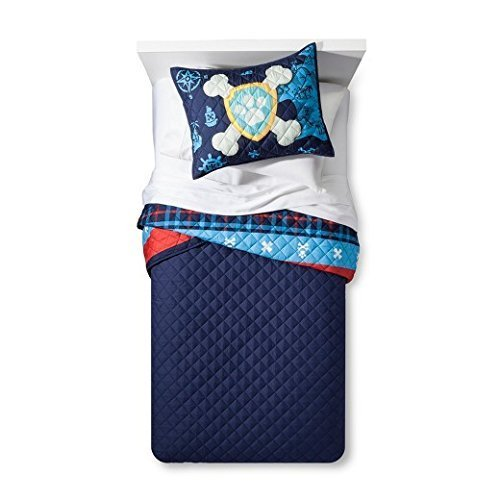 Paw Patrol Pirate Pups Twin/Full Quilt & Sham by Paw Patrol