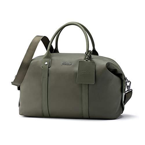 - Titleist Duffle Bag (Solid Boston Bag, Olive)
