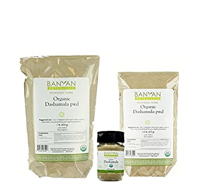 Banyan Botanicals Dashamula Powder - Certified Organic - A traditional Ayurvedic formula for pacifying vata and supporting proper function of the nervous system*