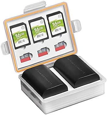 PowerTrust - Caja de batería para cámara réflex Digital y ...