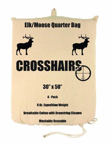 Lewis N. Clark Crosshairs 30 x 50-Inch/8-Ounce-Elk/Moose Quarter Bag (Pack of 4)