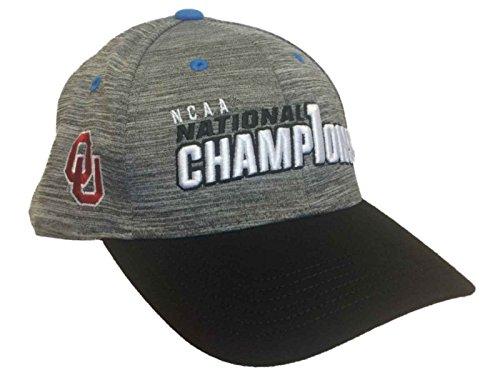 Top of the World Oklahoma Sooners 2017 College Golf Champions Adjustable Locker Room Hat Cap