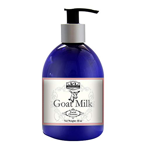 Pure Goat Milk Facial Cleanser, Natural Moisturizing and Hydrating Face Wash, Fights Wrinkle, provides Smooth and supple skin, Best Face Cleanser that Helps with Acne and evens Skin tone