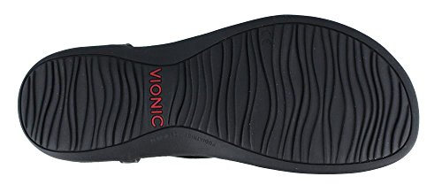 Vionic Rest Nala Toe Post Sandal Black