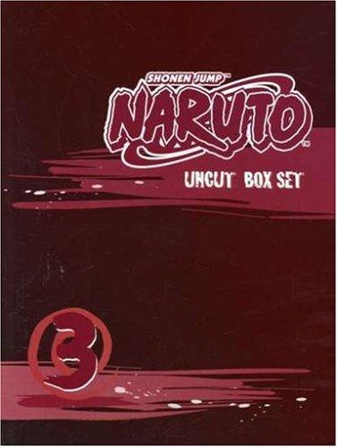 Shonen Jump's Naruto Uncut Box Set 3: Amazon ca: NARUTO: DVD