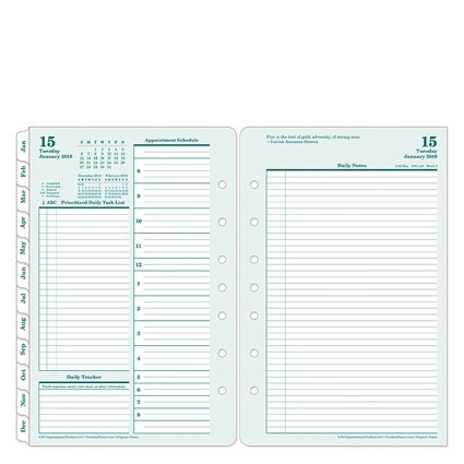 Classic Original Daily Ring-Bound Planner - Jan 2019 - Dec 2019 ()