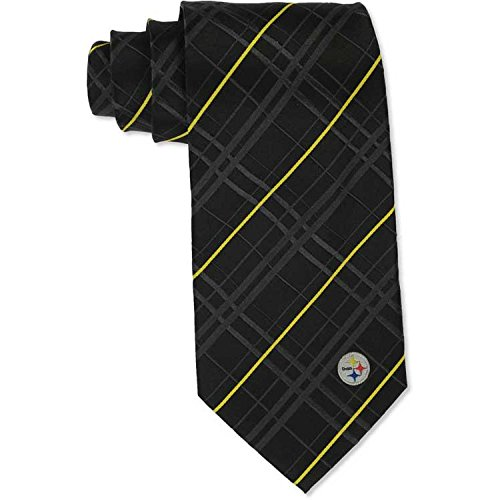 Eagles Wings Pittsburgh Steelers Oxford Woven Silk Tie