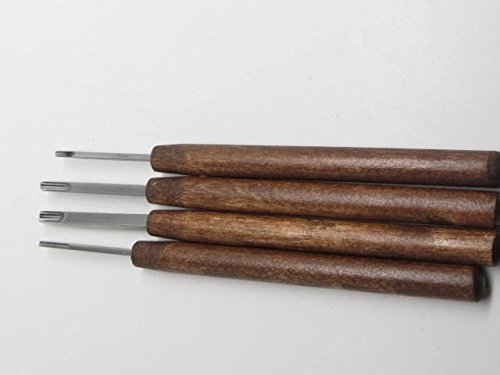 4pc Ramelson USA U Micro Woodcarving Tools Handcrafted Similar to Dockyard by UJ Ramelson Co