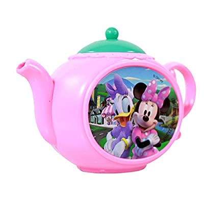 What Kids Want Minnie Mouse Girls Pretend Play Tea Party Play Set: Toys & Games
