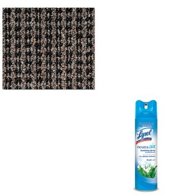 KITCWNOXH035BRRAC76938EA - Value Kit - Crown Oxford Wiper Mat (CWNOXH035BR) and Neutra Air Fresh Scent (RAC76938EA)